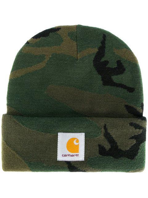 6eb4e99ce72 CARHARTT camouflage beanie.  carhartt