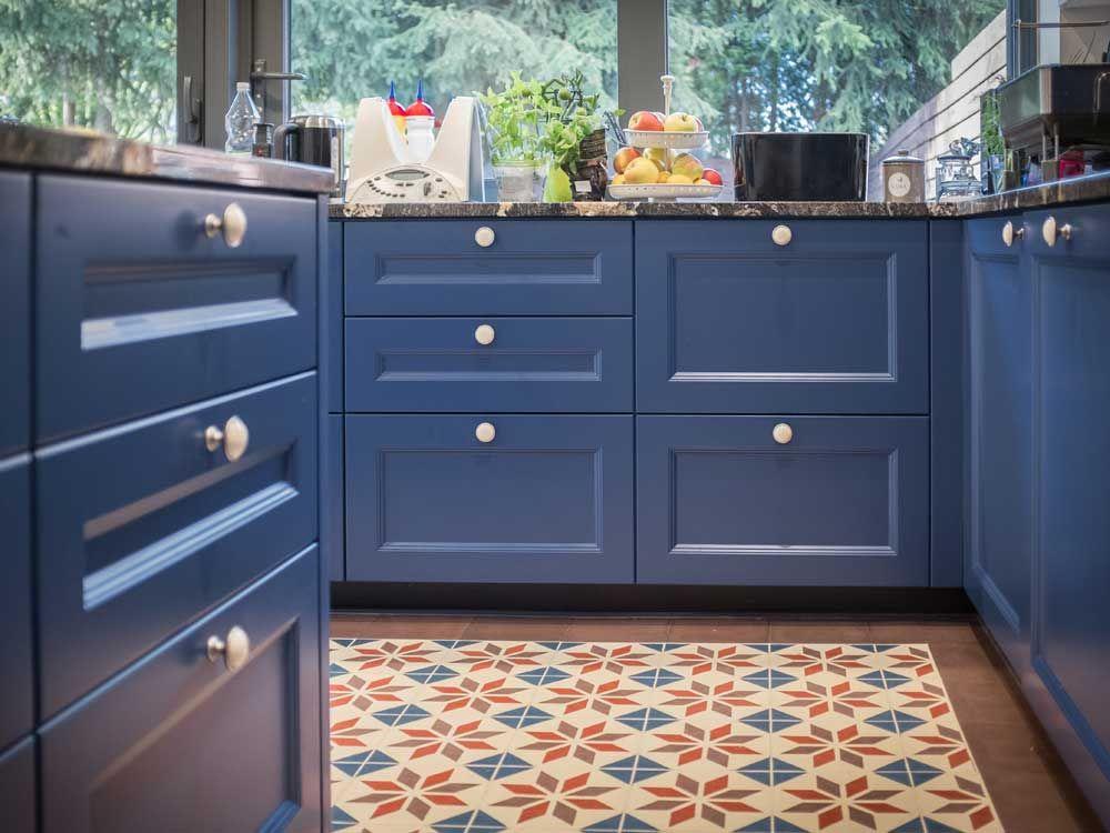 Articima Zementfliesen in der Küche Zementfliesen