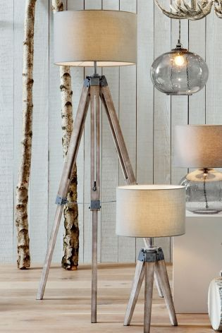 Buy Wooden Tripod Table Lamp From The Next Uk Online Shop House