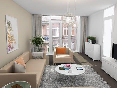 Superleuke, goed geprijsde 3-kamer maisonnette op de 2e en 3e verdieping van een goed onderhouden complex!