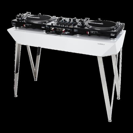 Glorious Diamond White Application Dj Table Home Decor Dj Setup