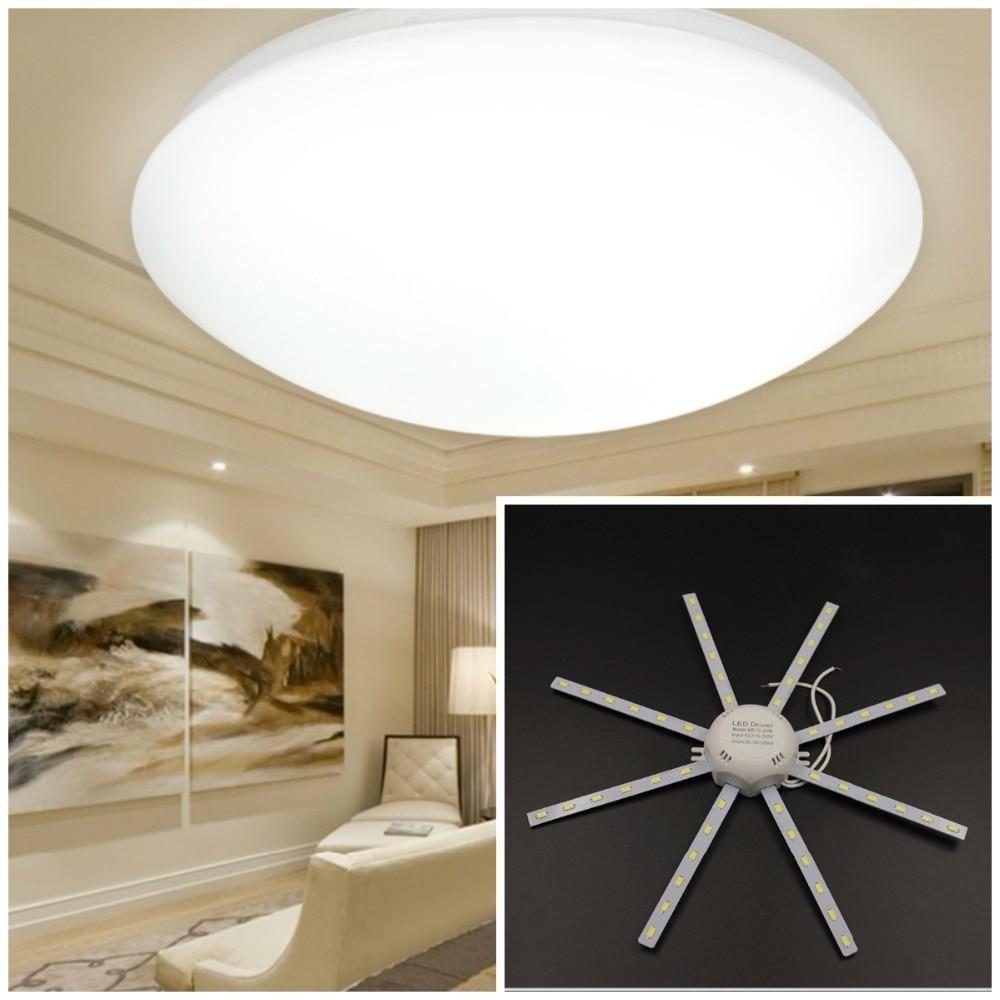 New Led Ceiling Lamp 24w 48led 220v Led Lamp Octopus Light Energy
