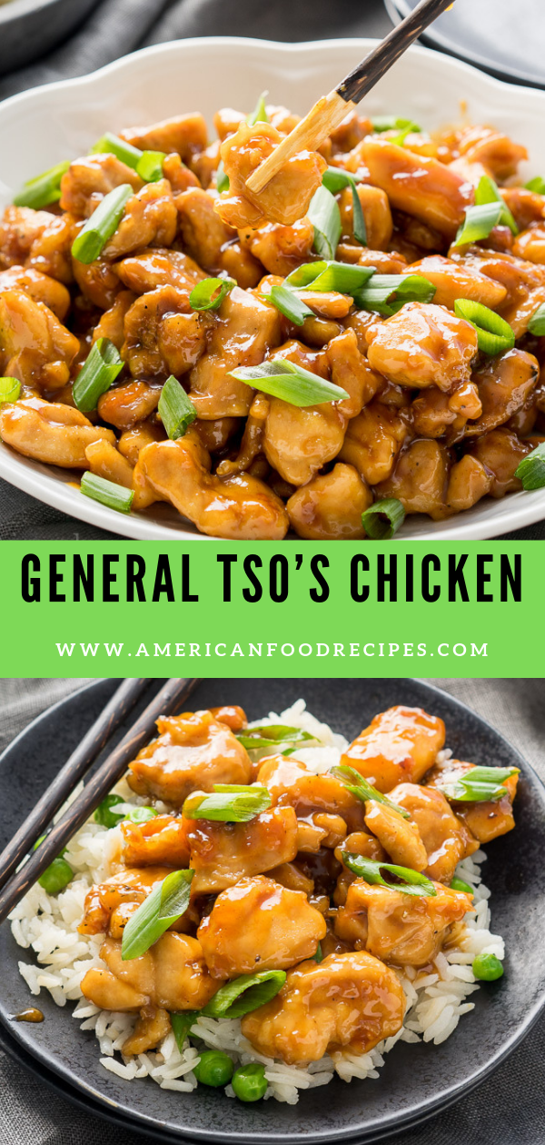 General Tso's Chicken #hawaiianfoodrecipes