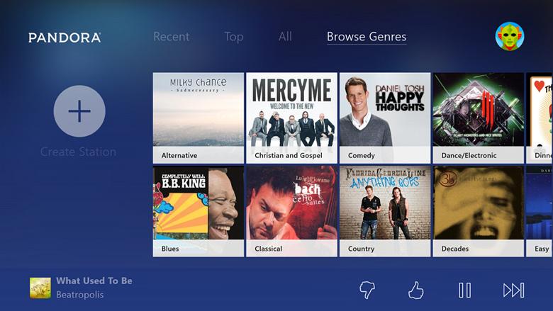 Five new apps on Xbox One Pandora, Vevo, Bravo, Telemundo