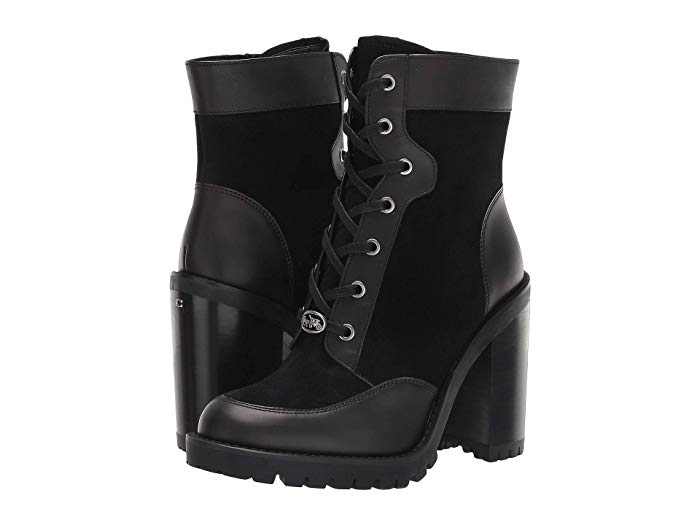 COACH Hedy Lace-Up Bootie | Zappos.com