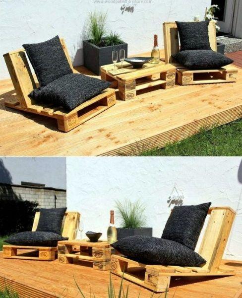 11 Set De Mobilier Handmade Pentru Gradina Din Paleti De Lemn Vechi Casadex Case Constructii Diy Patio Furniture Pallet Patio Furniture Pallet Furniture