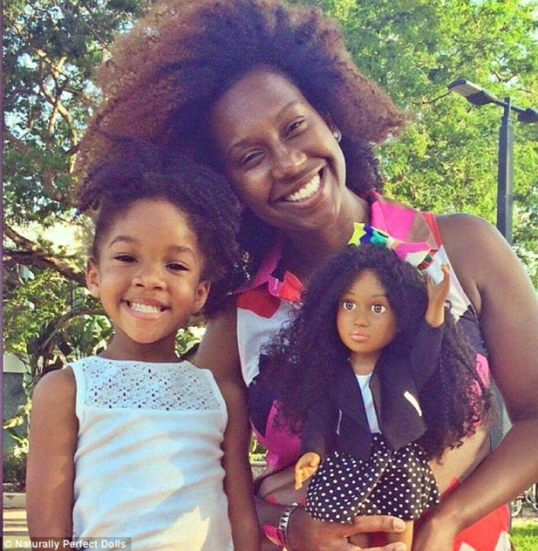 Afroarts naturally perfect dolls natural hair pinterest