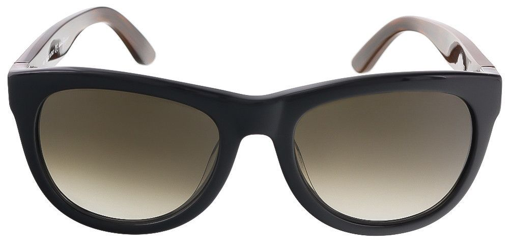 bf040568130 Salvatore Ferragamo SF685S 001 Black Wayfarer sunglasses Black Rectangle