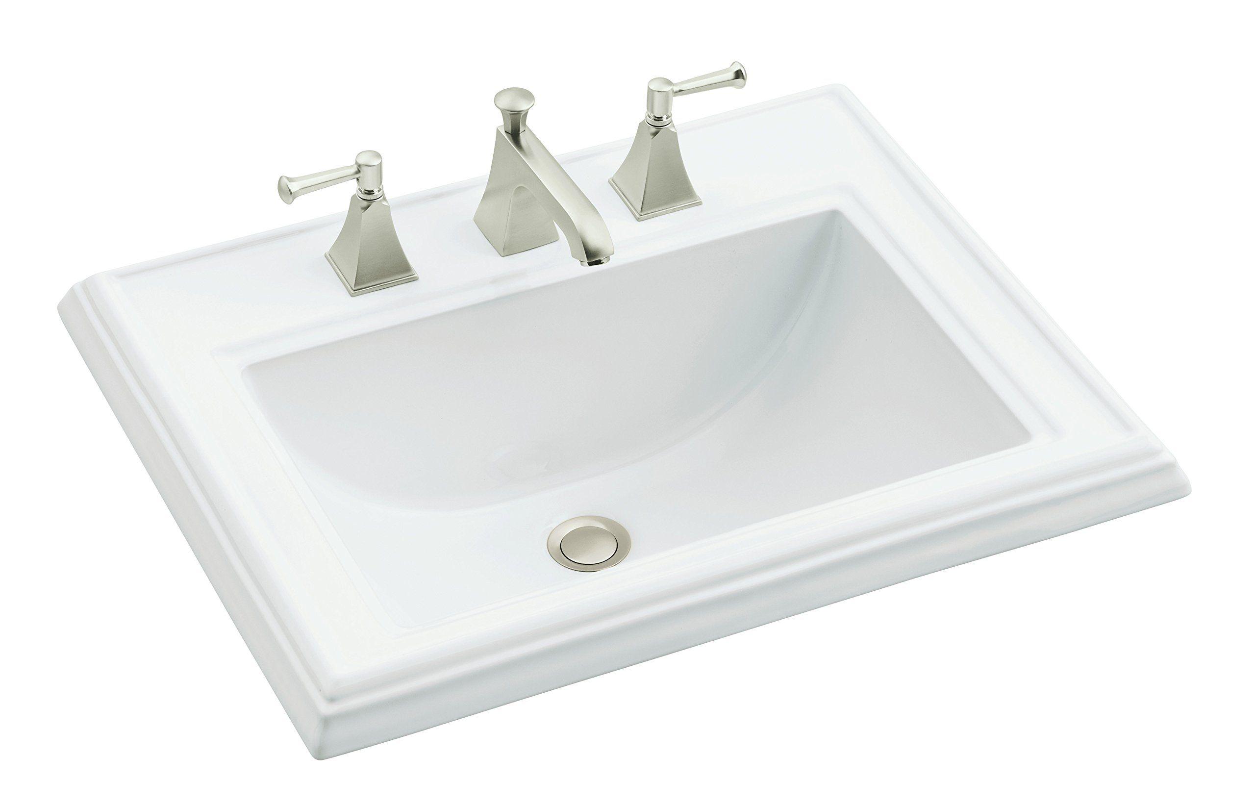 Kohler K224180 Memoirs Classic Dropin Bathroom Sink White Visit