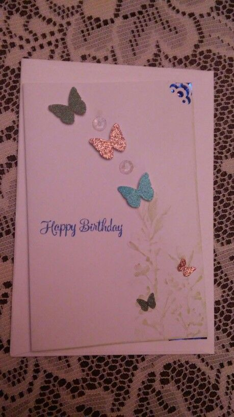 Happy birthday, a stamp and punch card | Gifts for nan ...