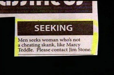 The 20 Funniest Personal Ads Of All Time