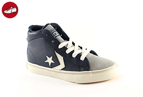 converse pro leather vulc mid leather/suede grey