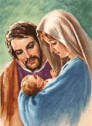 Busquemos a inspiração familiar na contemplação da Sagrada Família de Nazaré.