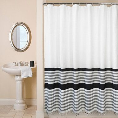 Park B. Smith® Brooklyn Shower Curtain   BedBathandBeyond.com