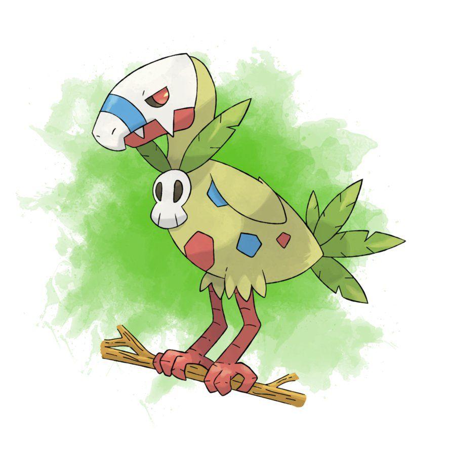 Картинки покемон травяного типа