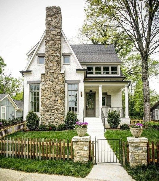 30+ Rustic Cottage House Exterior Design Ideas To Copy