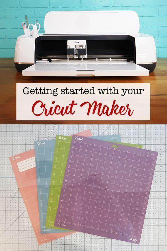 Getting Started with your Cricut Maker. #Cricut #CricutMade #CricutMaker