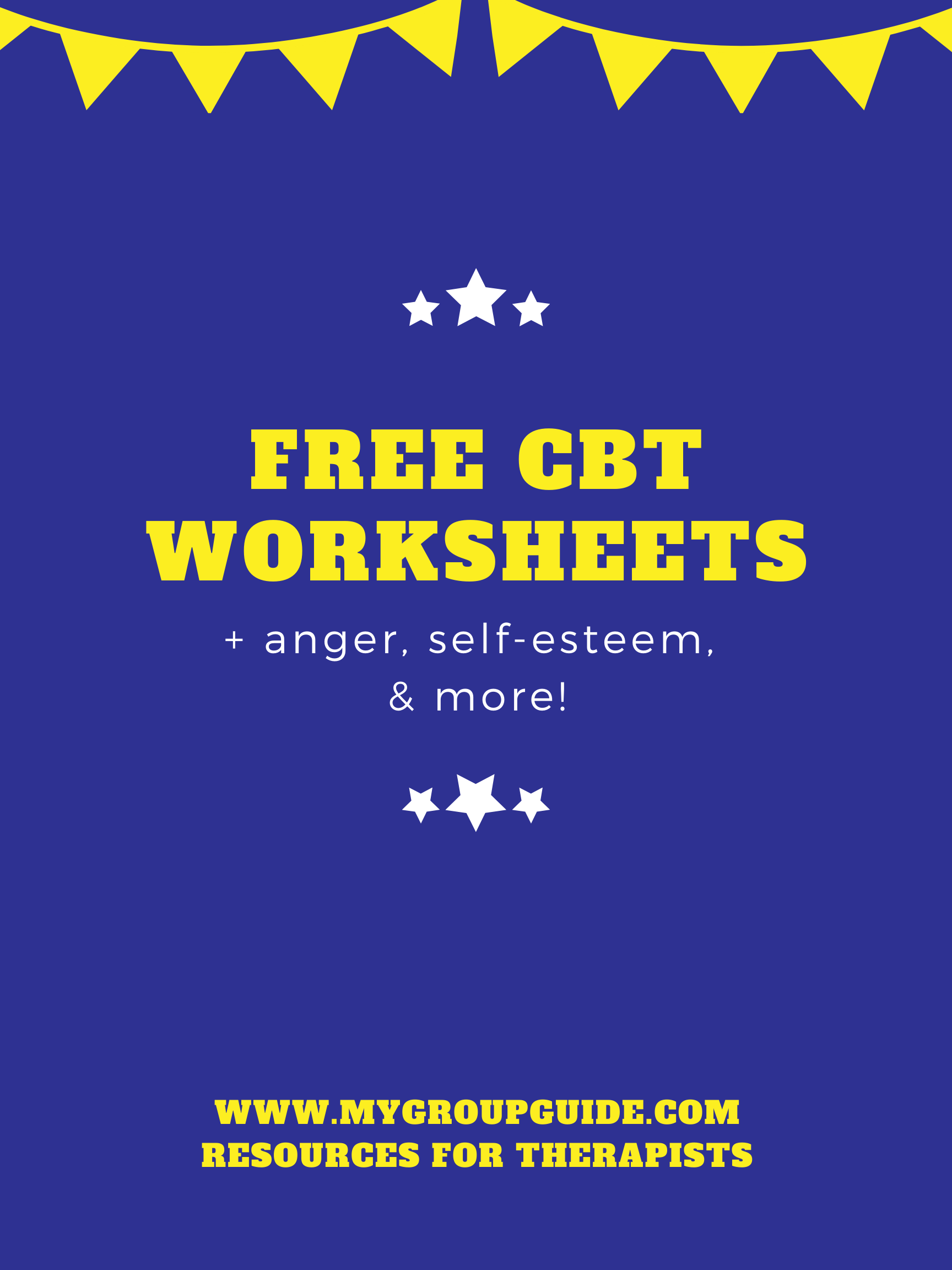Free Therapy Worksheets In