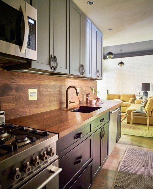 Kitchen Renovation Apartment Therapy: Before & After: Ideas From A Chic Boston Apartment