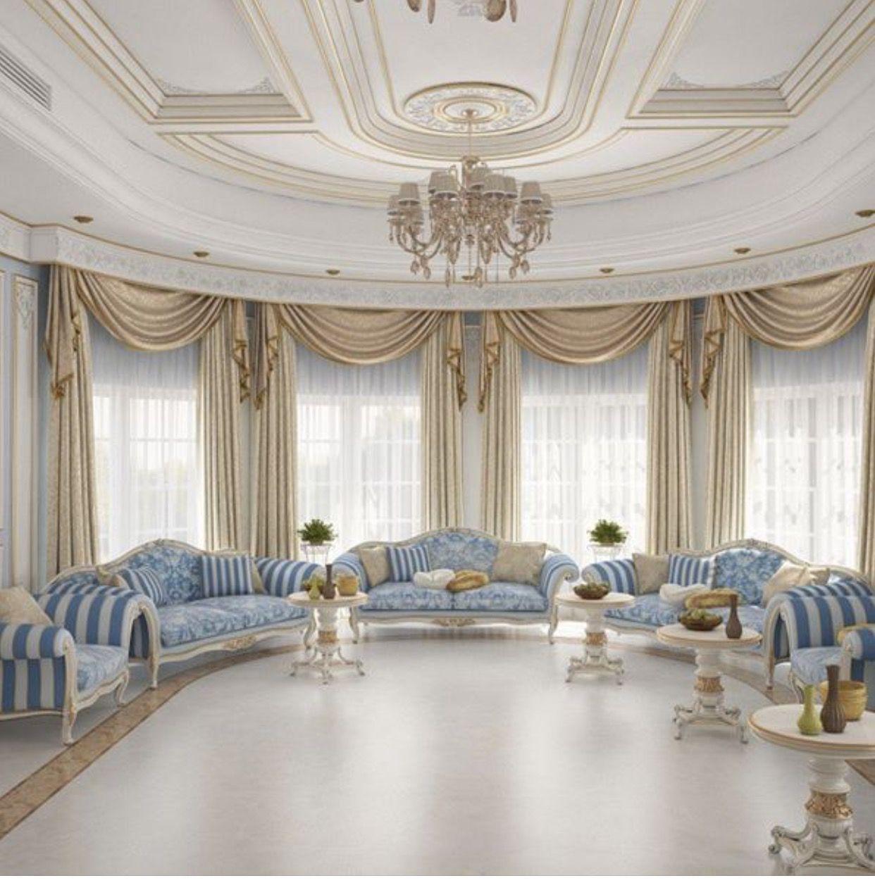 Luxury Apartments Interiors Luxury Living Room Decor: Pin By Liz Nikollaj On Curtains
