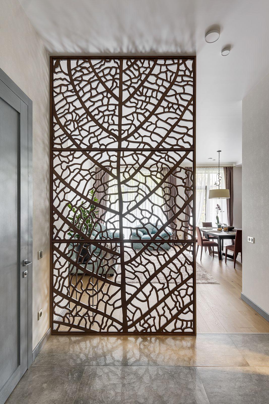 Wooden partition Wood Leaf, veneered plywood Room