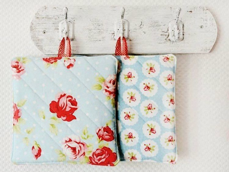 DIY tutorial: Sew Pot Holders via DaWanda.com | łapki | Pinterest ...