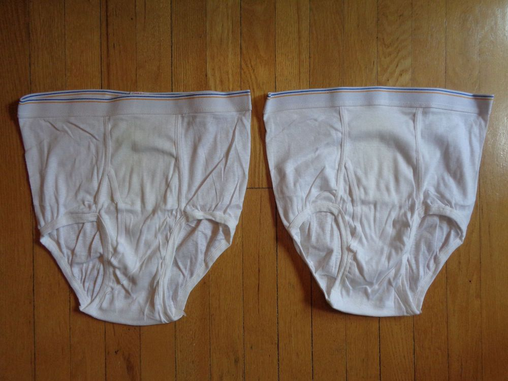 7c9fcd1cfdd0 Pair of Vintage Fruit of the Loom Gold Band White Briefs Two 2 Large 38-40  FTL #fashion #clothing #shoes #accessories #mensclothing #underwear (ebay  link)