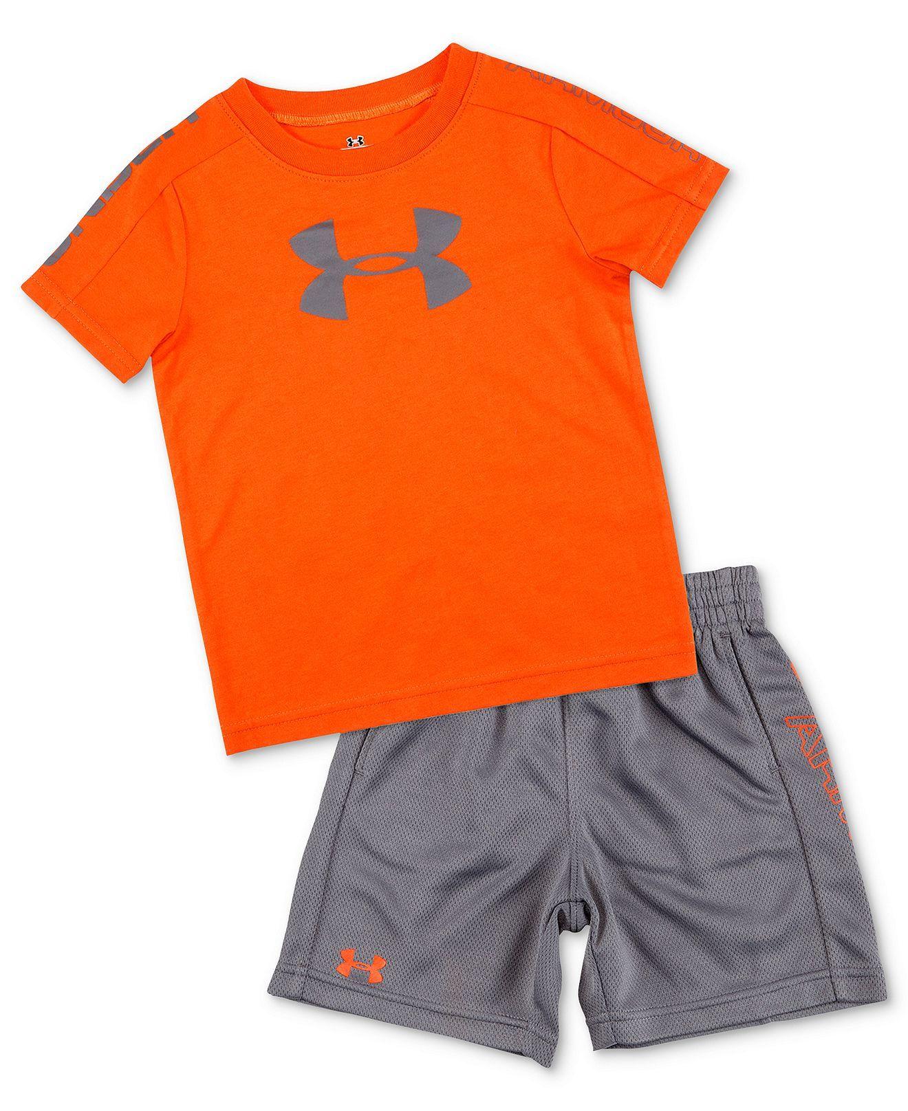 358d334870 Under Armour Baby Set, Baby Boys 2-Piece Tee and Shorts - Kids Baby ...