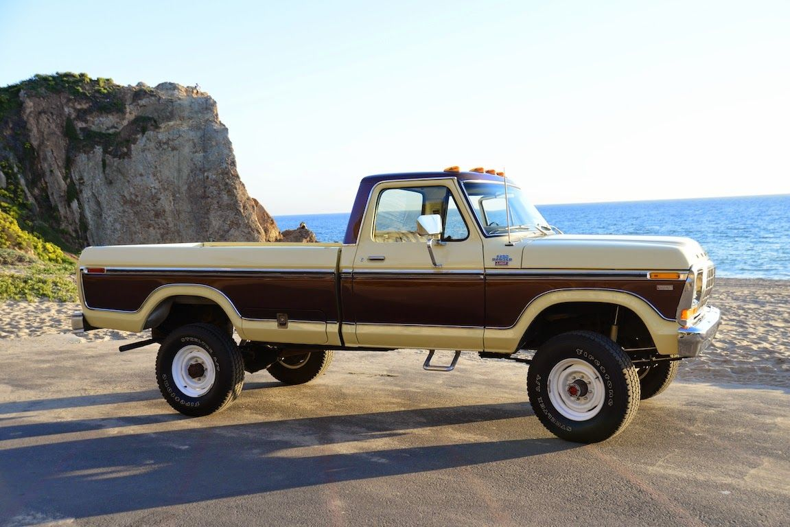 All american classic cars 1978 ford f 250 ranger camper special pickup truck