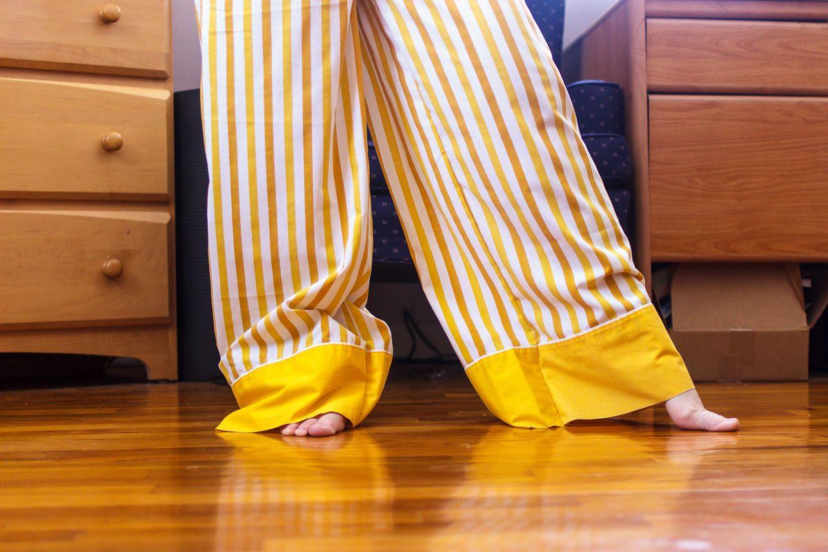 New Wide-Leg Lounge Pants