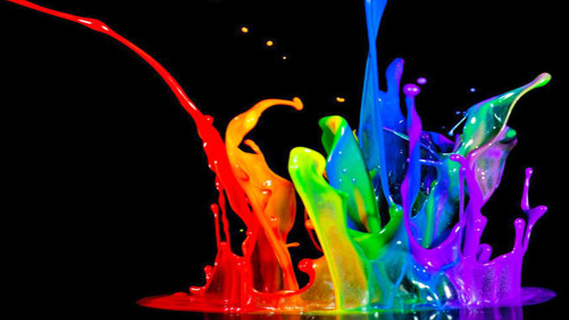 Paint Splash, Colorful Wallpaper