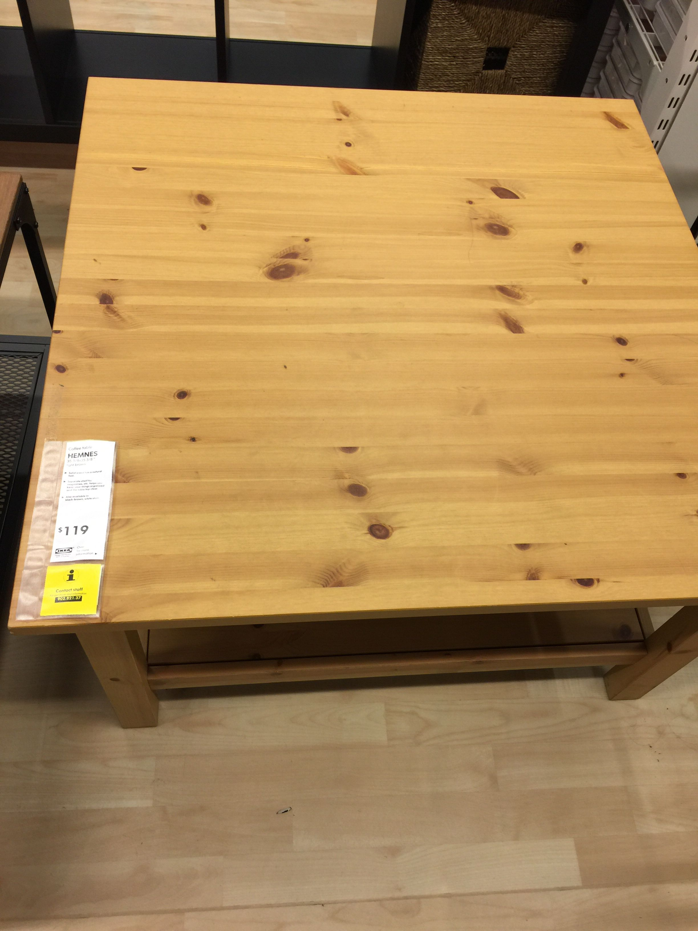 ikea hemnes coffee table light brown - Light Colored Coffee Tables