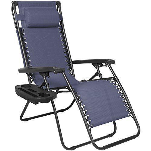 Pleasing Sunshade Canopy Lounge Chair Zero Gravity Patio Garden Inzonedesignstudio Interior Chair Design Inzonedesignstudiocom