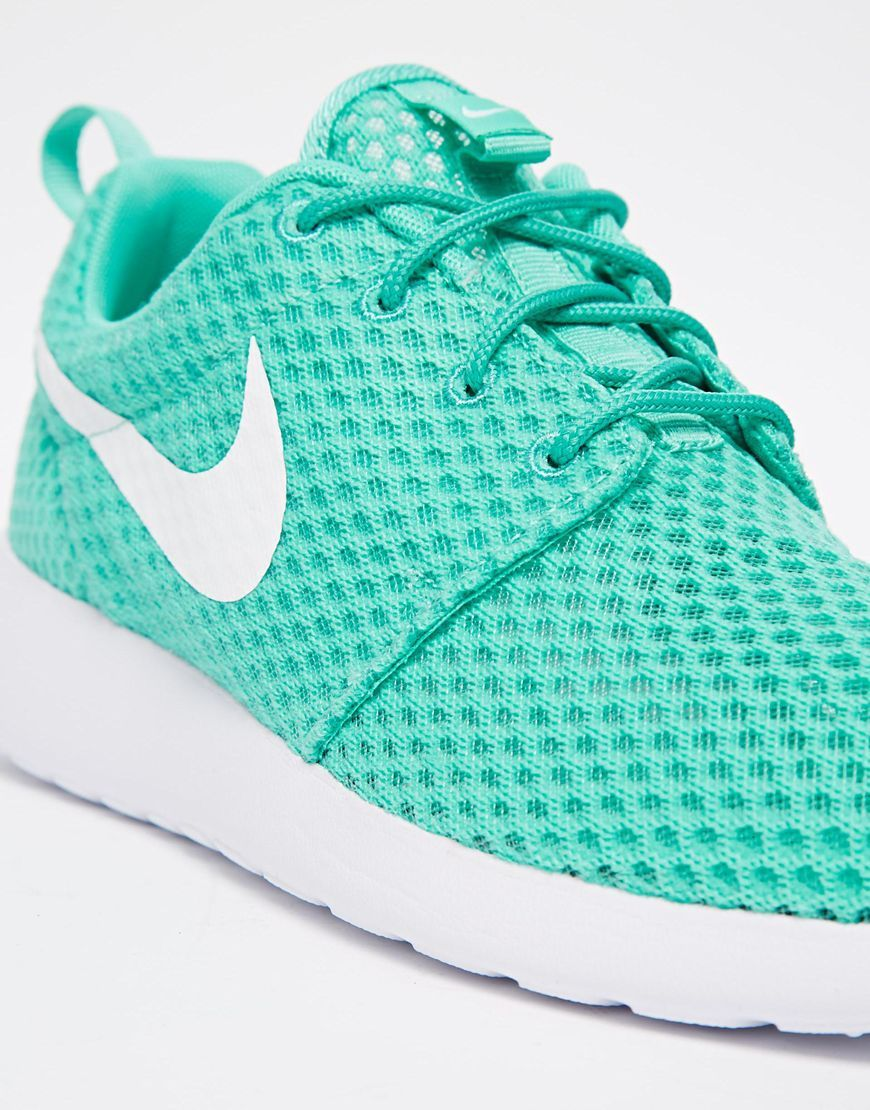 nike - roshe run br - baskets