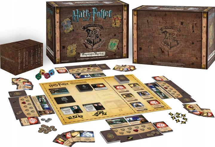 Gra Planszowa Harry Potter Hogwarts Battle Pl 159 95 Zl 8827934433 Allegro Pl Harry Potter Hogwarts Battle Harry Potter Hogwarts Hogwarts