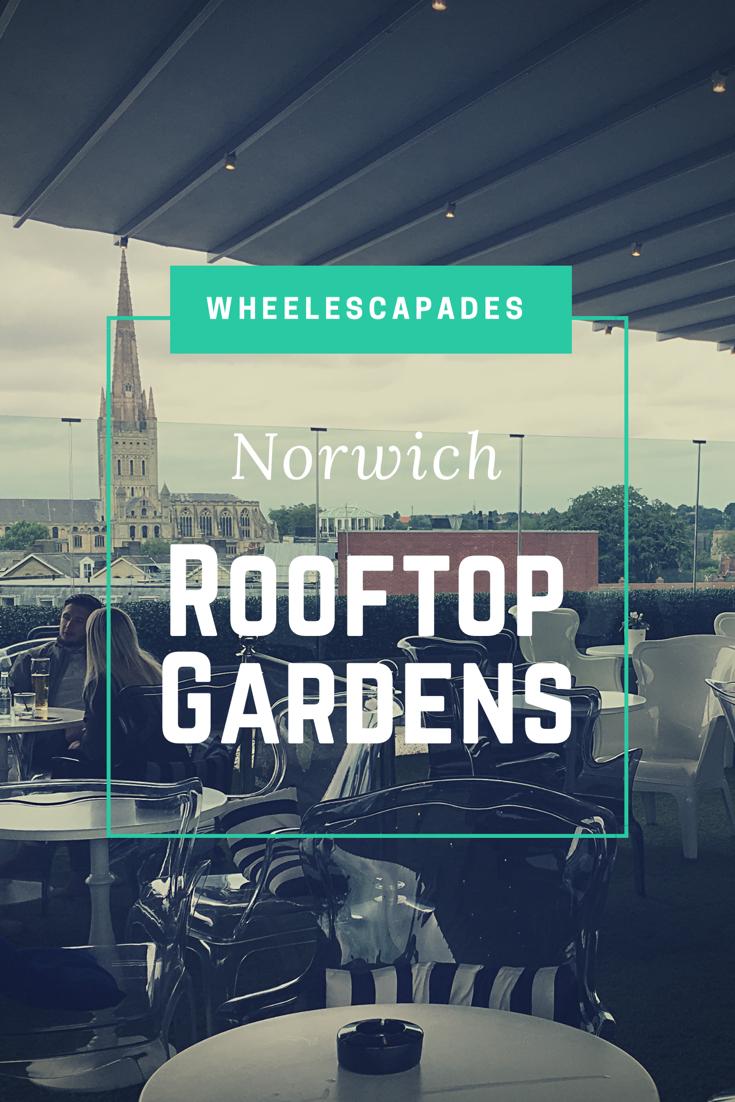 The High Life Rooftop Gardens Rooftop Garden Rooftop Norwich