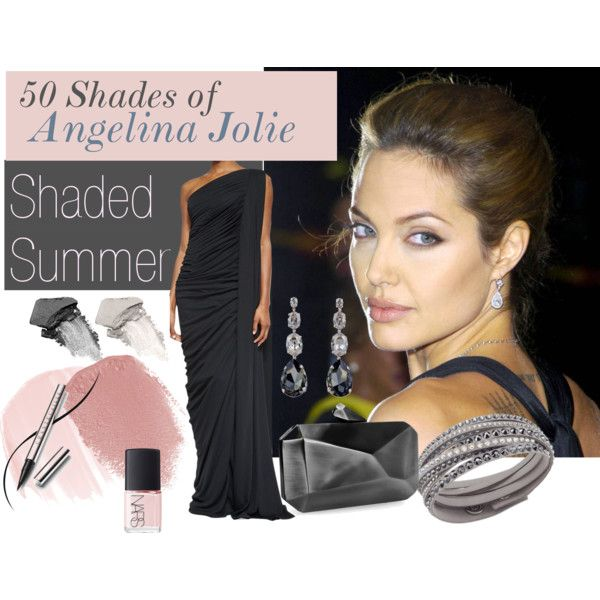 Angelina Jolie - Shaded Summer by prettyyourworld on Polyvore featuring beauty, Chantecaille, Lipstick Queen, It Cosmetics, NARS Cosmetics, Swarovski, Janis Savitt and Michael Kors