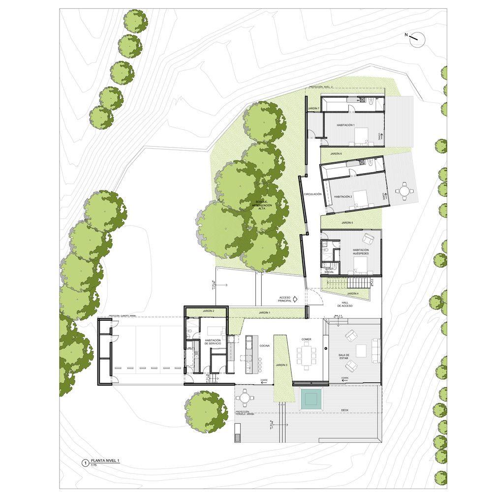 Galer A De Casa Entre Jardines Planta Baja Estudio