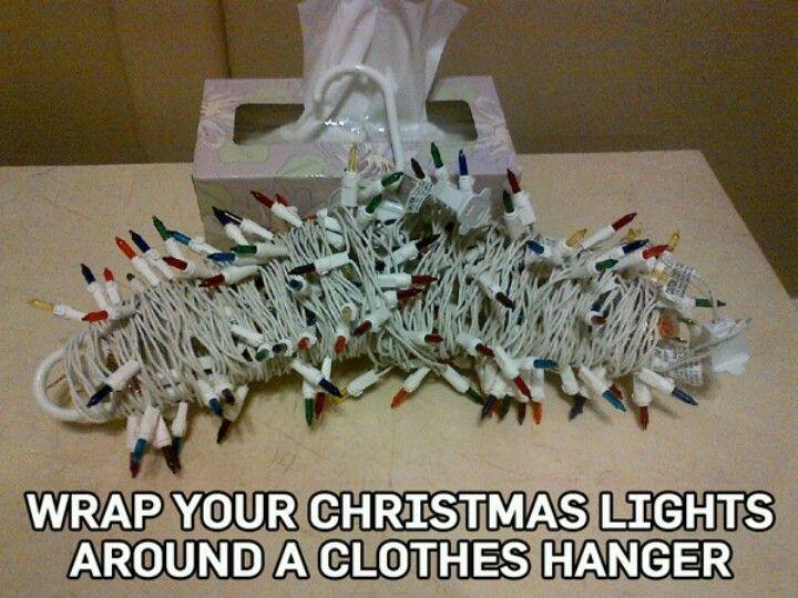 Christmas Light Storage
