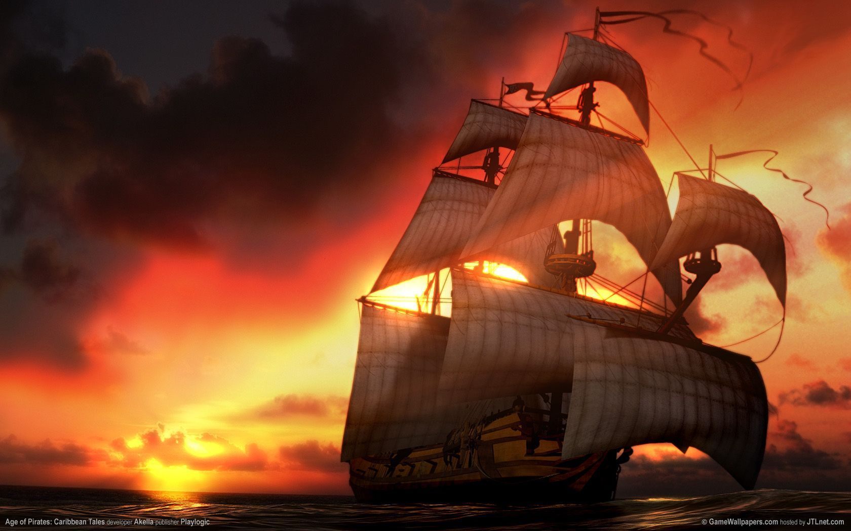Pirates Of The Carribean Wallpapers Wallpaper Old Sailing Ships Us Pirate