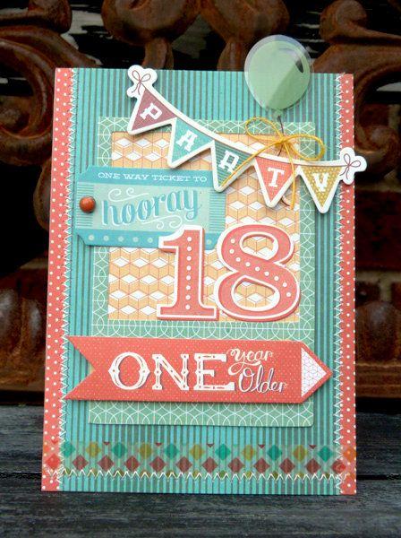 18th Birthday Card Diy Crafts Pinterest Birthday Cards And