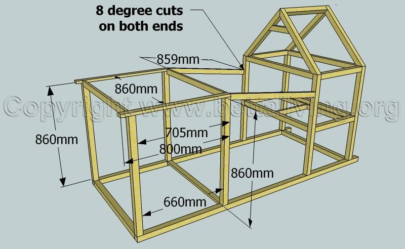 easy build walk-in chicken run plans | the city chicken craze
