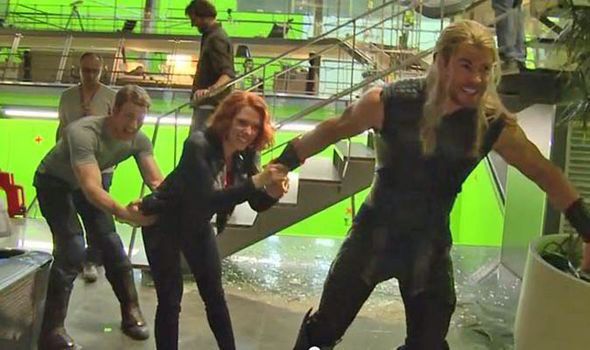 Image result for scarlett johansson and chris evans funny moments