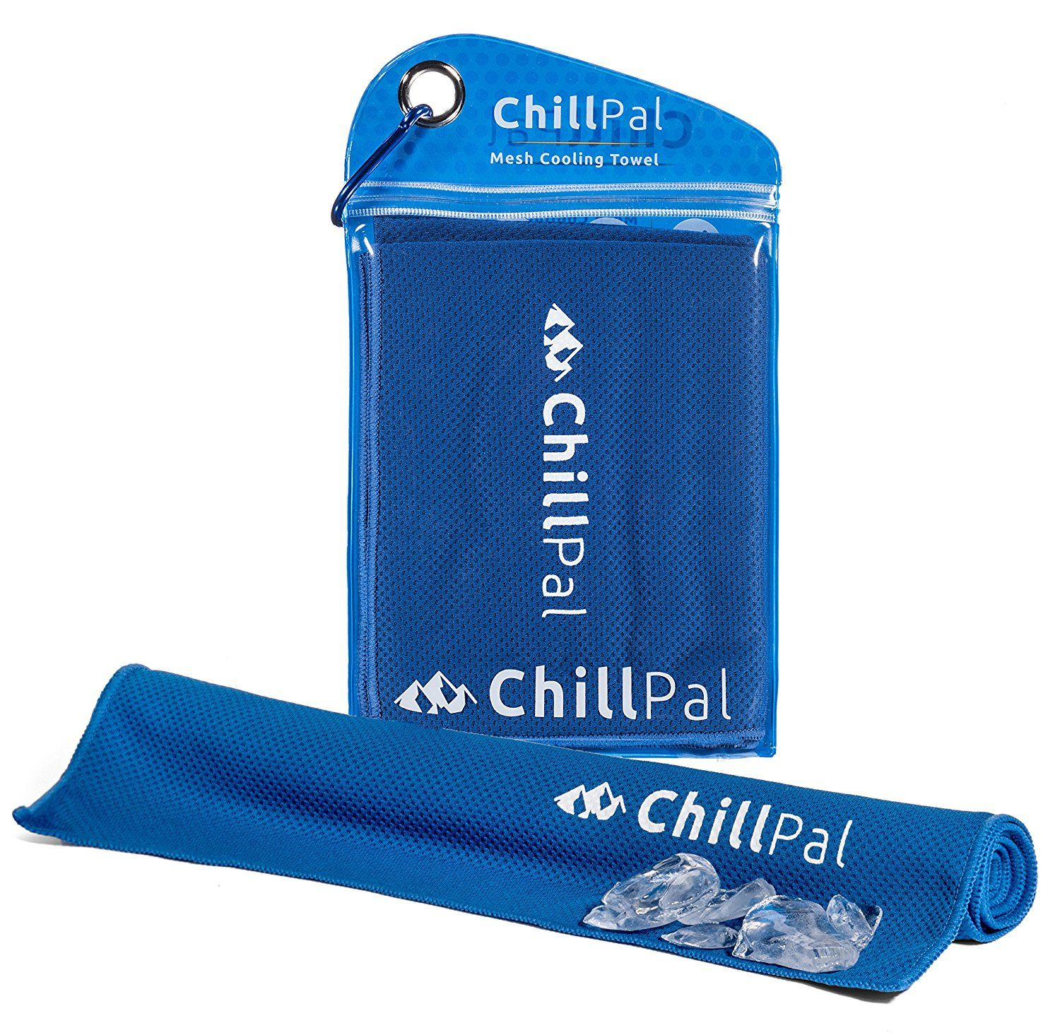 Chill Pal Mesh Cooling Towel A Stay Cool Evaporative Technology A Perfect For Running Camping Hiking Cold Towels Cooling Towels Gym Towel