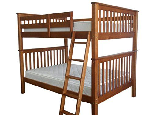 Bedz King Bunk Bed Full Over Mission Style Espresso Check Out The Image