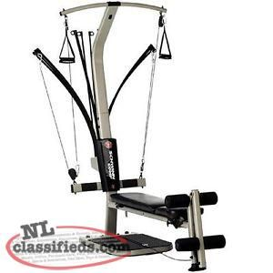 schwinn bowflex home gym in great condition and is easy