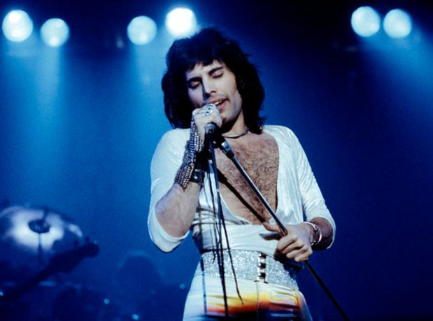 """I like to be surrounded by splendid things."" - Freddie Mercury"