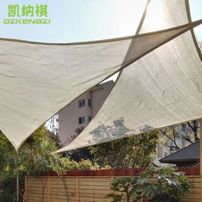 2 Pcs Lot Free Shipping 3 X 4 X 5 M Right Angle Patio Shade Sails With Free Ropes Used As Balcony Shade Net Shade Sails Patio Patio Shade Deck Canopy