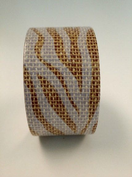 Check out Zebra Print Duct tape, fashion duct tape, decorative tape, duct tape crafts, burlap duct tape, fashion duct tape on vickysjewelrysupply