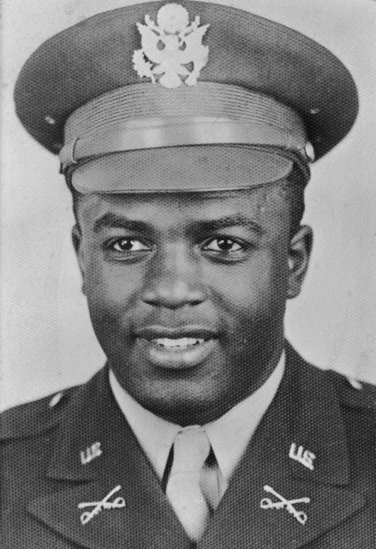 Image result for Lieutenant Jackie Robinson